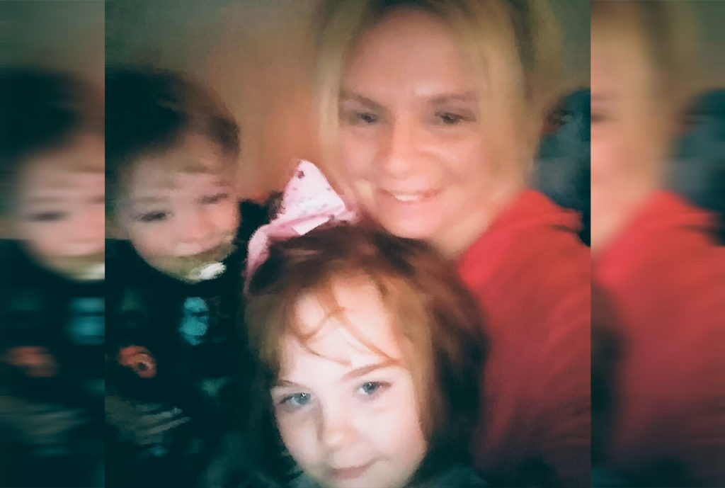 Amy Yost with kids image